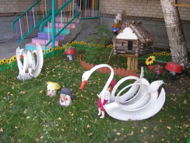 Озеленение участка детского сада своими руками